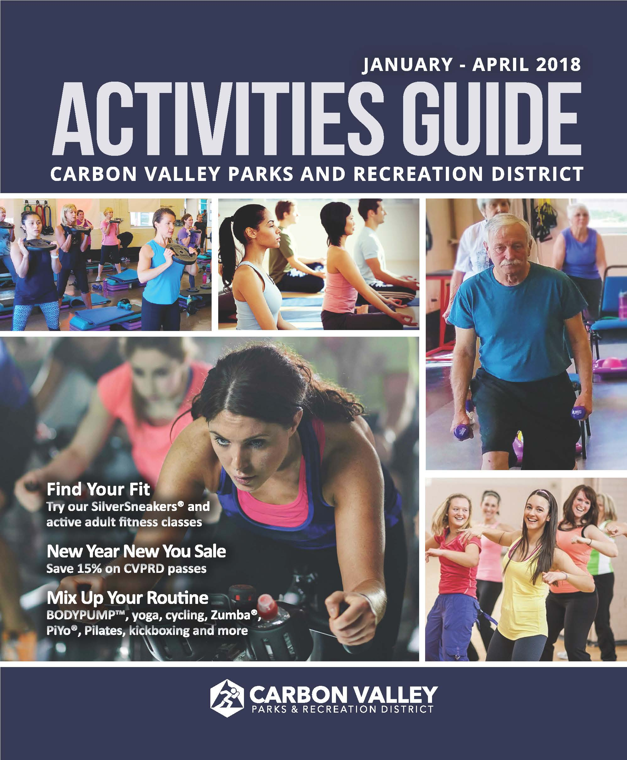 January to April 2018 Activity Guide